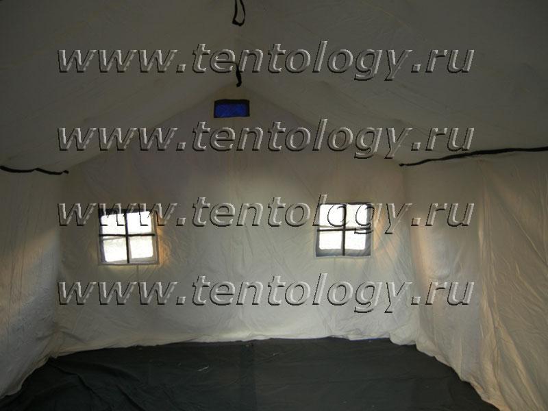 палатка МЧС М-10 изнутри внутри