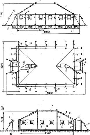 Размеры палатки УСБ-56