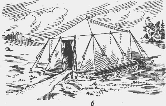 Палатка лагерная офицерская