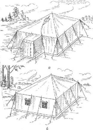 Каркасная палатка УК-53