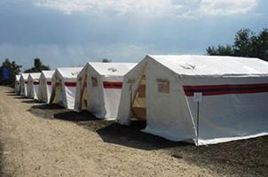Палатки МЧС каркасные