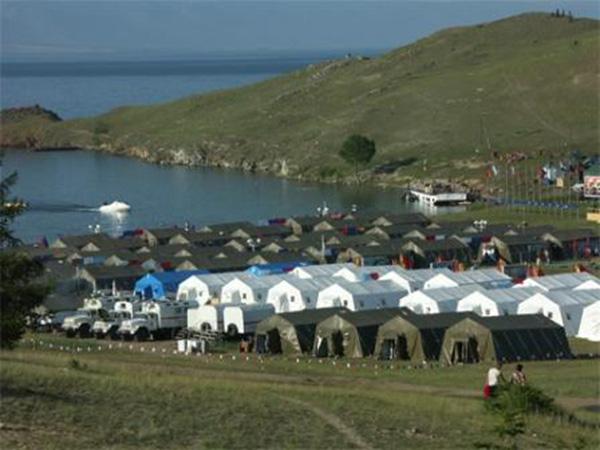 Каркасные палатки МЧС