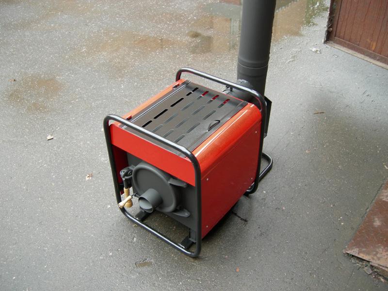Инфракрасный газовый обогреватель своими руками
