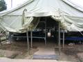 Палатка 2-го и 3-го отделения 3-го взвода, мои тапочки:).  20 июня 2004 года, палаточный лагерь Выразить свое мнение.